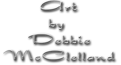 Art by Debbie McClelland Logo